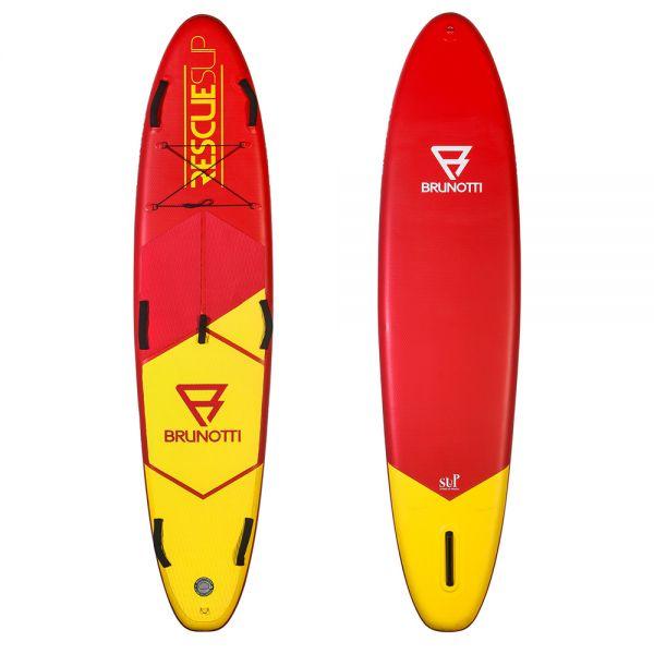 Rescue Paddle Board SUP felfújható deszka 2019 Piros/Sárga