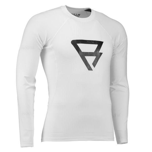 Defence Rashguard L/S Men fehér színben