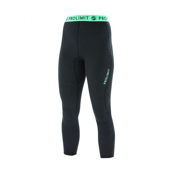 PL Wmns SUP Athl. 3/4 Leg pants QD Black/Aqua/Print