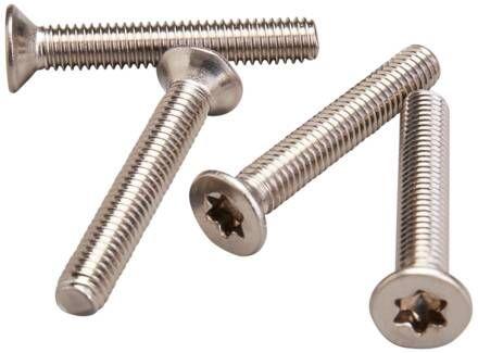 M6 Tapered Head Screws csavar készlet (4x)