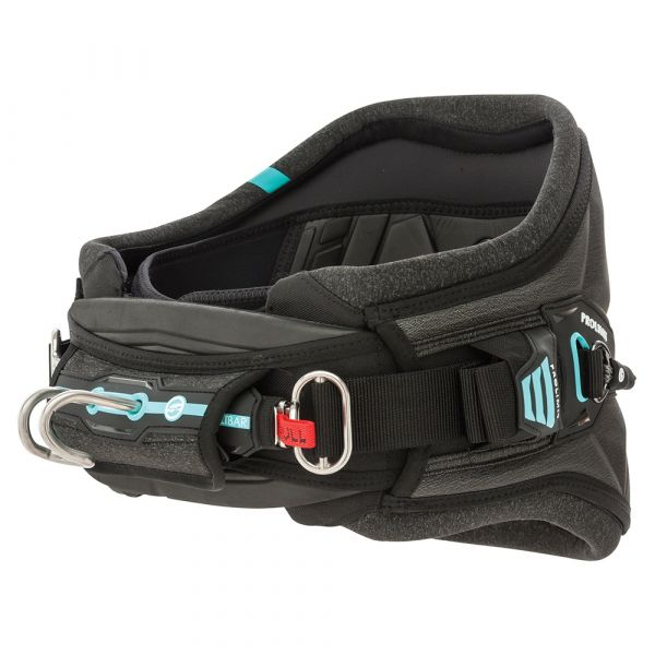 PG Harness Kite Waist Edge Black/Aqua 2019