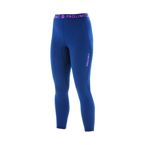 PL Wmns SUP Athl. Longpants QD Blue/Pink/ Print
