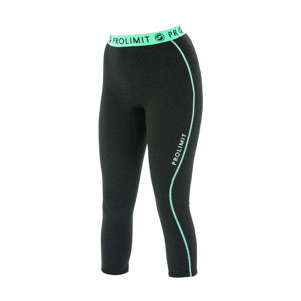 PL Wmns SUP Neo 3/4 LEG Pants 1MM Airmax Black/Aqua/Printed