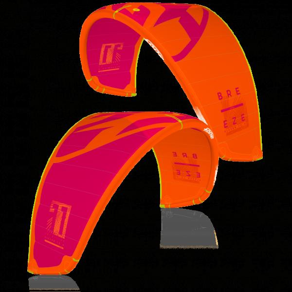 Breeze V.2 2019 Orange / Raspberry komplett Linx bar-ral