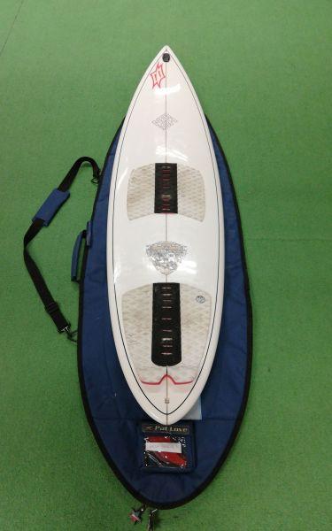 "Custom 6'1"" x 18;Kite Deszka;Stílus:Wave"