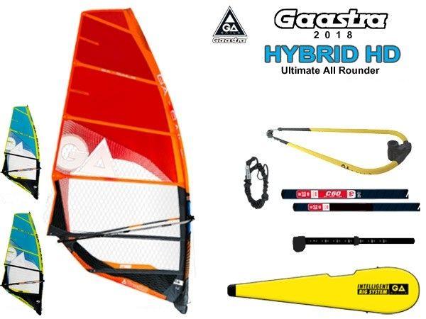 HYBRID RIGG '18 komplett vitorlázat