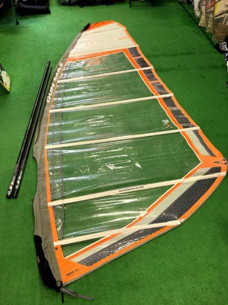 Booster 2008 9.5 m2 árbóccal