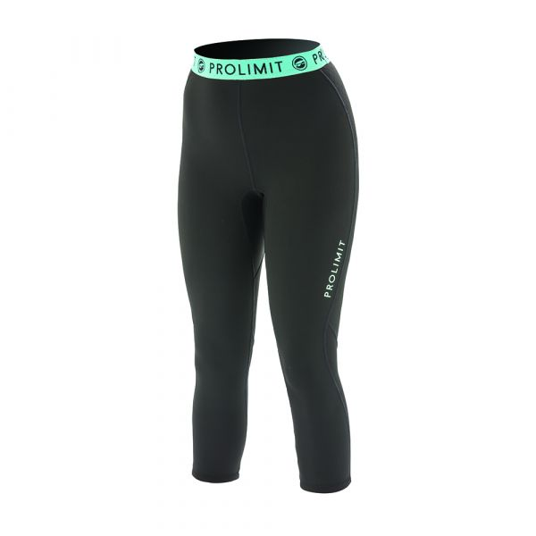 PL Wmns SUP Neo 3/4 LEG Pants 1MM Airmax Black/Aqua