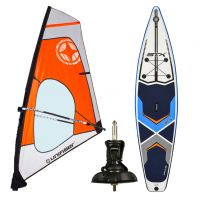 "WIND SUP DACRON 4.5 + STX 11'6"" WS SUP + CARDAN baseplate / pack"