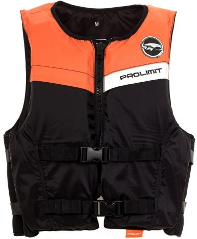 Floating Vest Freeride unisex mentőmellény 2 csatos fekete/narancs 2019