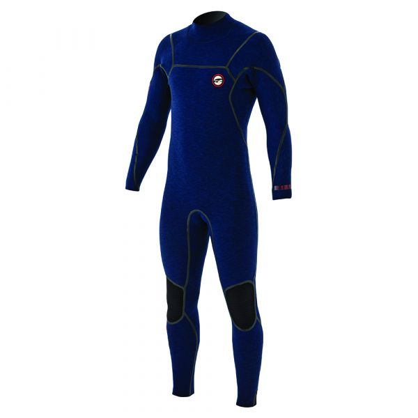 Mercury 6/4 V-backzip FTM Blue/Red