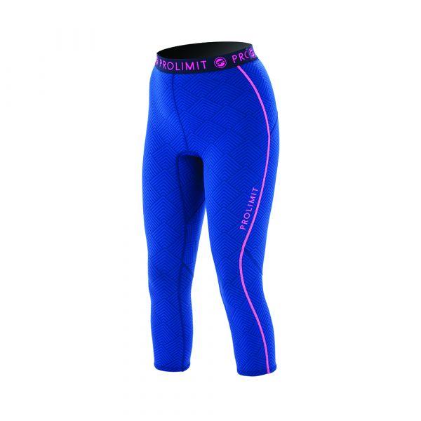 PL Wmns SUP Neo 3/4 LEG Pants 1MM Airmax Blue/Pink/Print