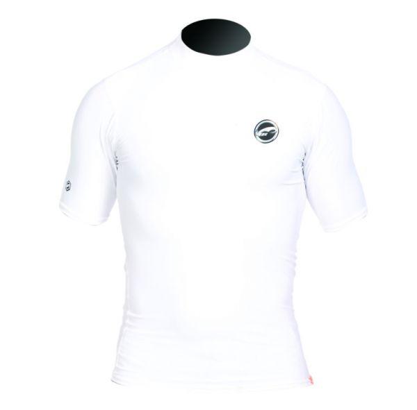 Rashguard Logo Silk SA White