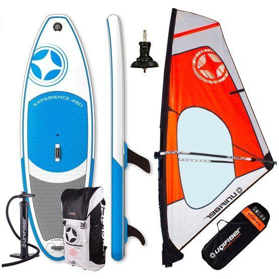 Experience iWindsurf 2018 + Wind Sup Dacron Complete Rig 2018 komplett windszörf felszerelés