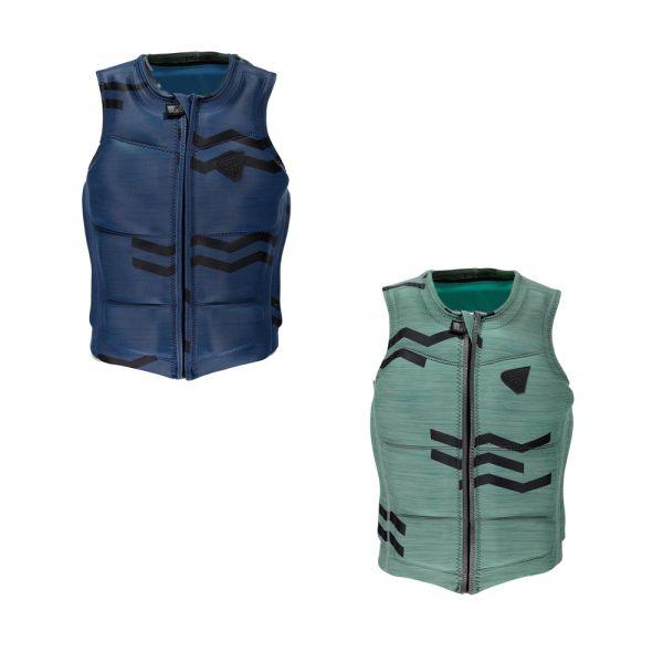 Zigzag Wake Vest front zip férfi mentő mellény