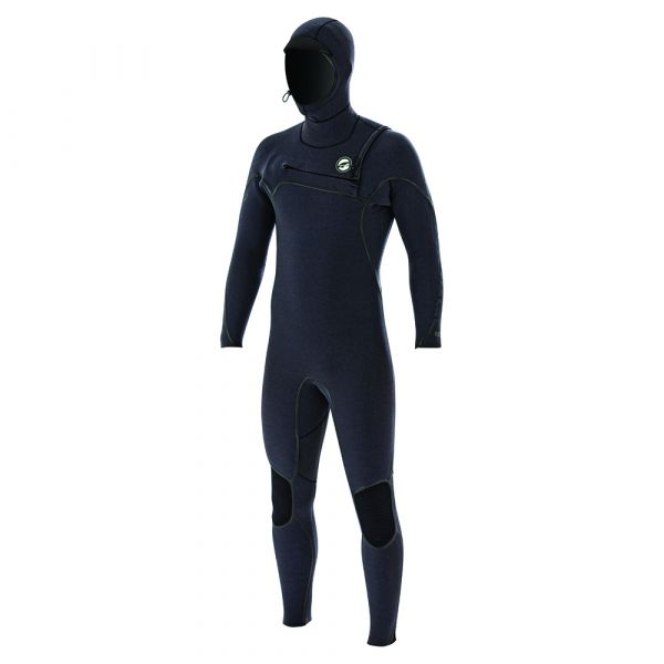 Mercury Hooded 6/4 mm Backzip 2019