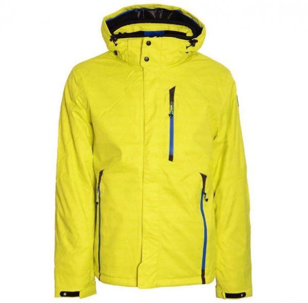 Efrain férfi kabát sárga