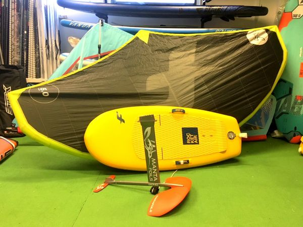 Rocket Air - Swing 5.0m2 - Manta / Komplett Wing