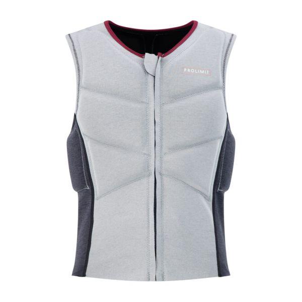 Womens Oxygen Vest Half Padded Front Zip