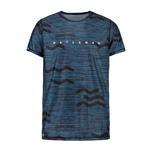 Zigzag Quick Dry Shirt S/S kék 2019