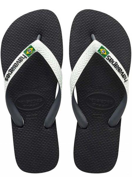 Brazil Mix Preto/Blanco strandpapucs