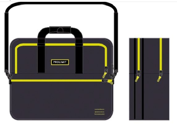Business Case Travel Pewter/yellow