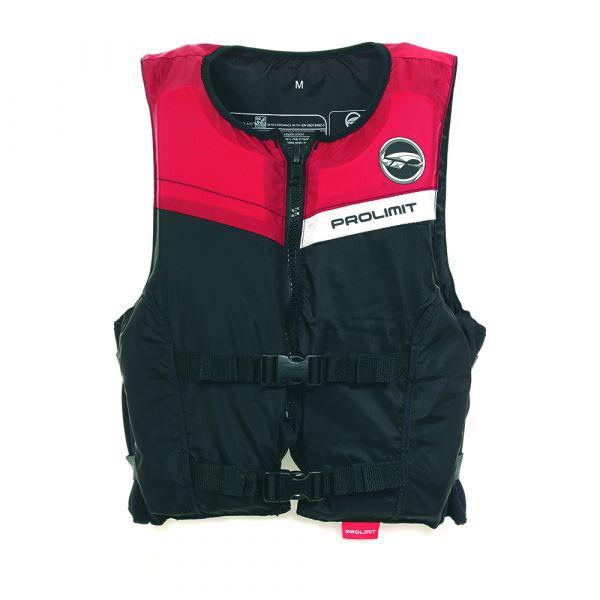 Floating Vest Freeride unisex mentőmellény 2 csatos fekete/piros 2019