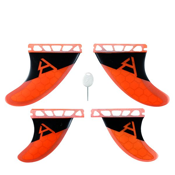 Honeycomb Future Fins, Quad Setup