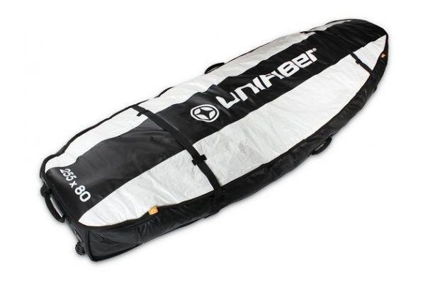 Unifiber Double Pro Boardbag 255 x 80 védőzsák nagy kerekekkel