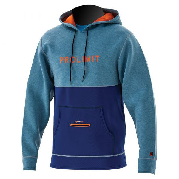 Loosefit Hoodie Neoprene Grey/Blue/Orange 2019