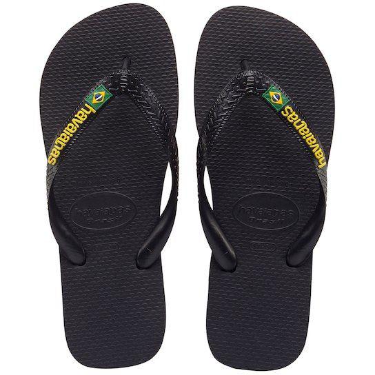 Brazil Mix Preto strandpapucs
