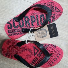 Flip-Flop Red strandpapucs