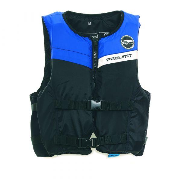 Floating Vest Freeride unisex mentőmellény 2 csatos fekete/kék 2019