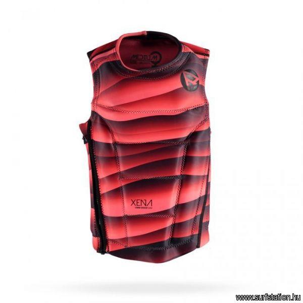 Xena női mentőmellény coral/sötét piros