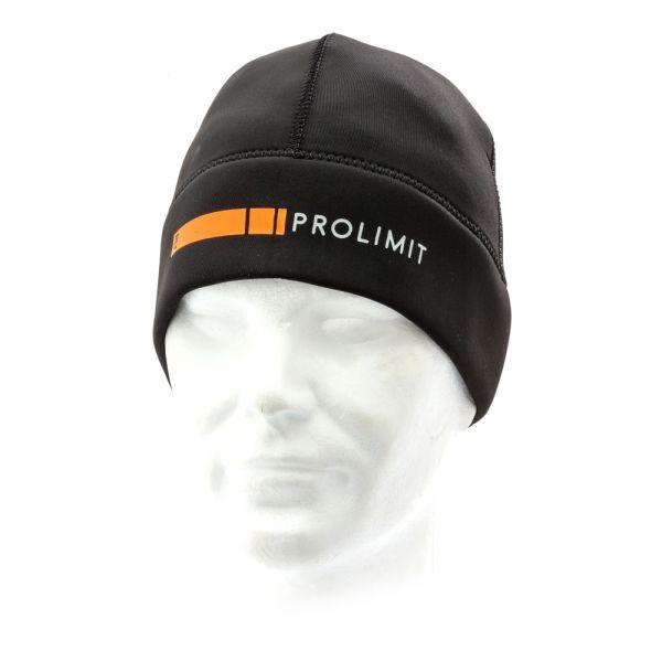 PL Neoprene Beanie PLT DL. Black/Orange