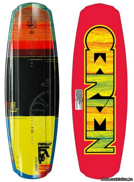 Format wakeboard deszka
